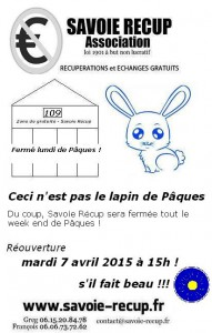 femeture paques
