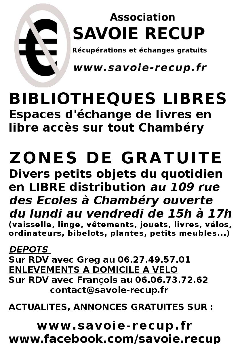 Savoie r cup association de r cup ration chamb ry - Association de recuperation meubles gratuit ...